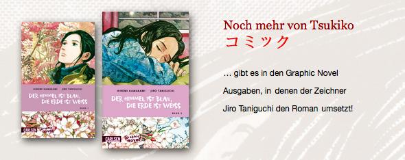 Noch mehr von Tsukiko gibt es auch in der Umsetzung des Romans als Graphic Novel