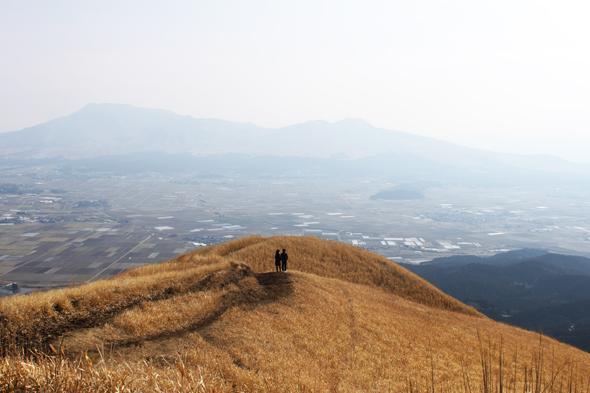 Auf den Spuren Sôseki Natsumes (2): Aso-Vulkan