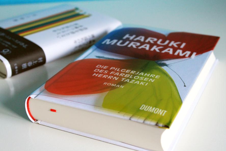 Die Pilgerjahre des farblosen Herrn Tazaki: ein Blick auf die Buchgestaltung